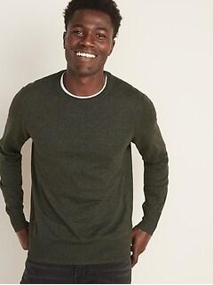 Crew-Neck Sweater for Men