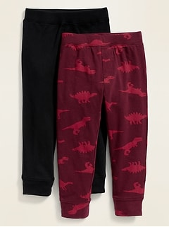 Printed Jersey Leggings 2-Pack for Toddler Boys