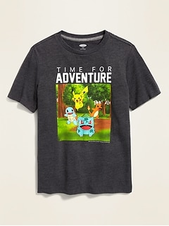 "Pokémon™ ""Time For Adventure"" Tee for Boys"