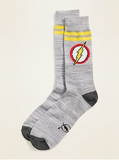 Licensed Pop-Culture Graphic Socks for Men