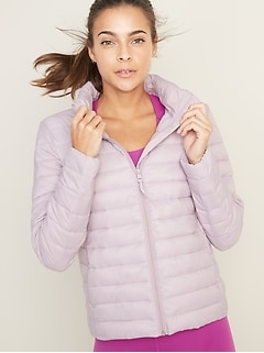 Packable Quilted Jacket for Women