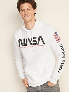 NASA&#174 Graphic Pullover Hoodie for Men