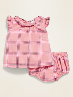 Ruffled Top & Bloomers Set for Baby