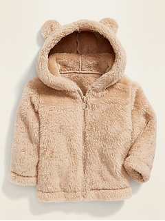 Hooded Micro Fleece Jacket for Baby