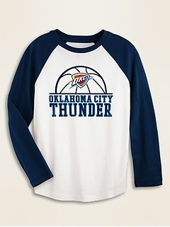 NBA® Team-Graphic Raglan Tee for Boys