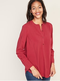 Lightweight Pullover Tunic for Women