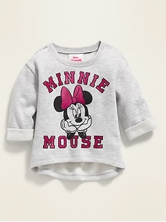 Disney© Minnie Mouse Graphic Sweatshirt for Toddler Girls