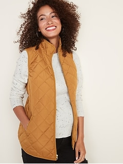 Maternity Quilted Vest