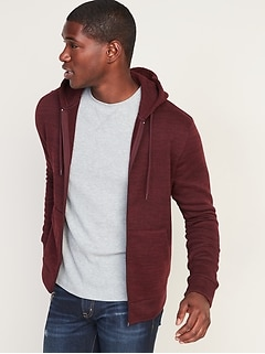 Sweater-Fleece Zip Hoodie for Men