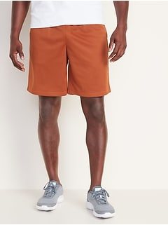 Go-Dry Mesh Shorts for Men - 10 inch inseam