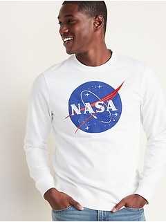 NASA® Graphic Sweatshirt for Men