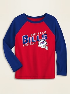 NFL® Team-Graphic Raglan-Sleeve Tee for Toddler Boys