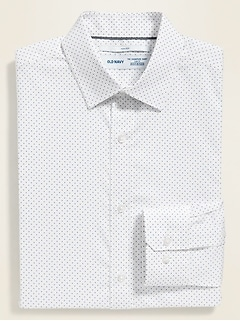 Regular-Fit Built-In Flex Signature Non-Iron Dress Shirt For Men