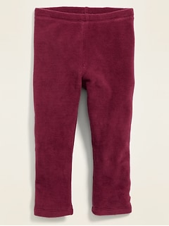 Micro Performance Fleece Full-Length Leggings for Toddler Girls