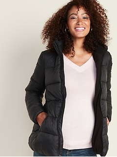 Maternity Frost-Free Puffer Jacket