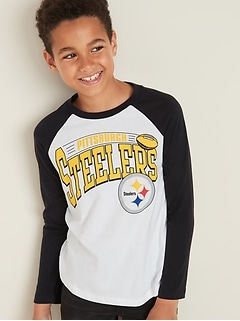 NFL&#174 Team-Graphic Raglan-Sleeve Tee for Boys