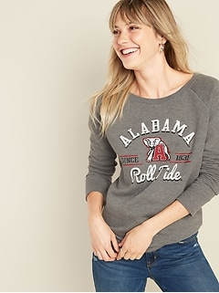 College-Team Graphic Sweatshirt for Women