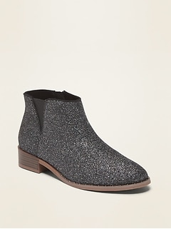 Glitter Chelsea Boots for Girls