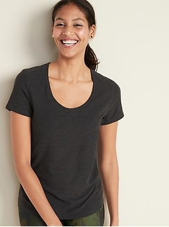 Breathe ON Mesh-Back Performance Tee for Women