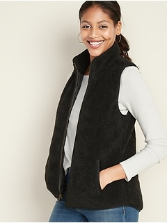 Sherpa Vest for Women