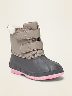 Duck Boots for Toddler Girls