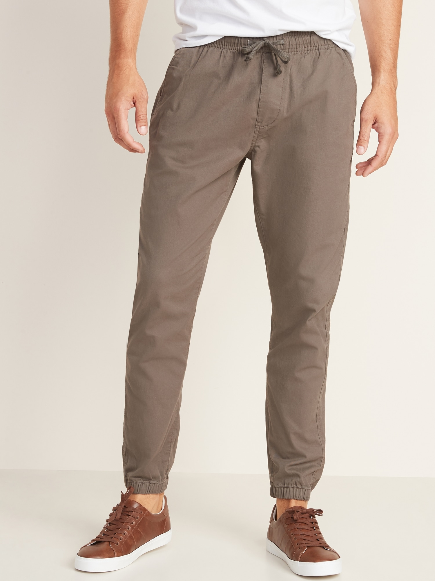 rational construction enjoy bottom price best quality for Built-In Flex Twill Joggers for Men
