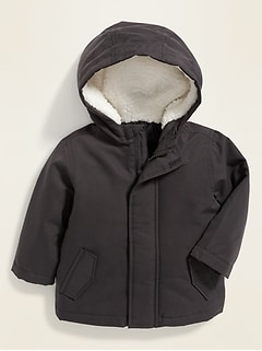 Hooded Parka for Baby