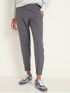 Mid-Rise Soft 4-Way Stretch Joggers for Women