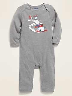 Graphic One-Piece for Baby