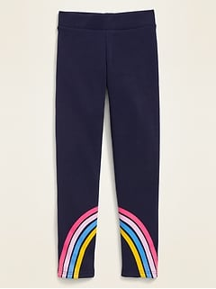 Cozy-Lined Leggings for Girls