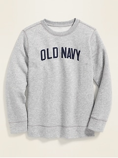Logo-Graphic Sweatshirt for Boys