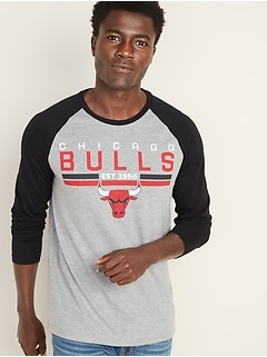 NBA® Team-Graphic Raglan Tee for Men