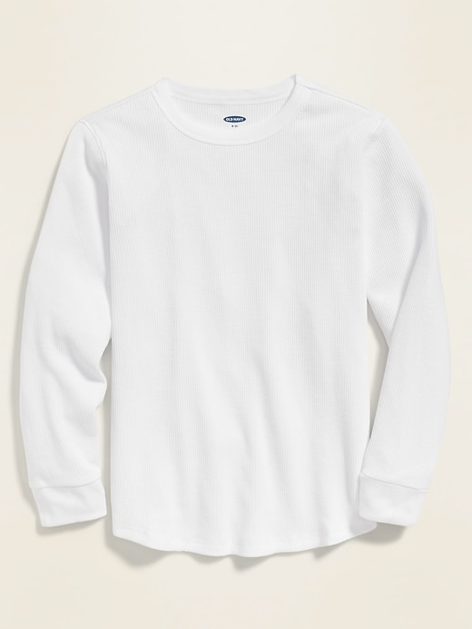 Thermal Crew-Neck Tee for Boys