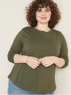 EveryWear Crew-Neck Plus-Size Tee