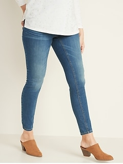 Maternity Full-Panel Rockstar Super Skinny Jeans