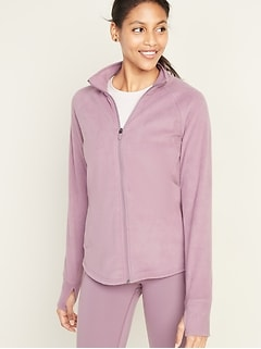 Micro Performance Fleece Zip Jacket for Women