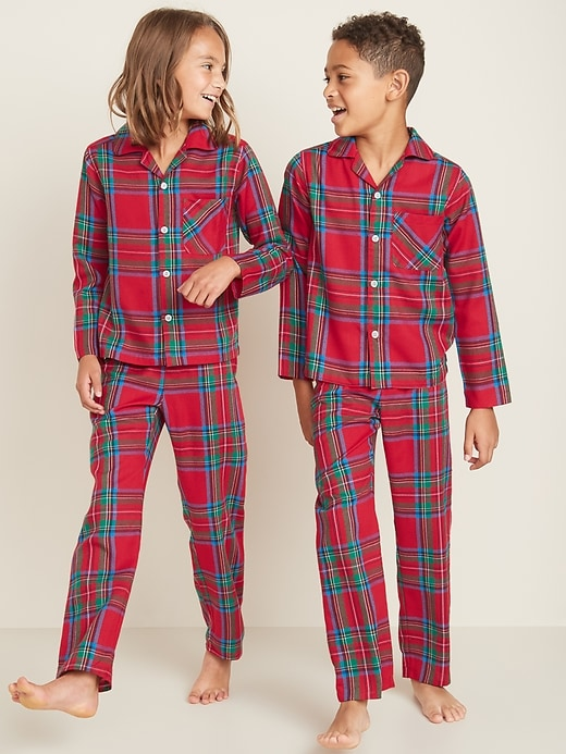 *Hot Deal* Printed Twill Pajama Set for Kids