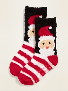 Patterned Cozy Socks for Toddler & Baby
