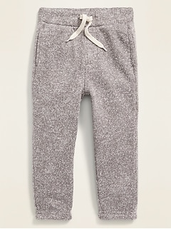 Relaxed Fleece-Knit Joggers for Toddler Boys
