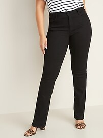 Mid-Rise Kicker Boot-Cut Jeans for Women