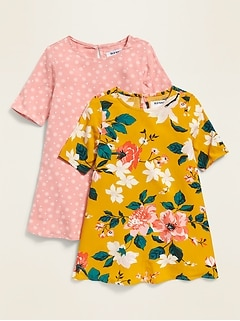 Swing Dress 2-Pack for Toddler Girls