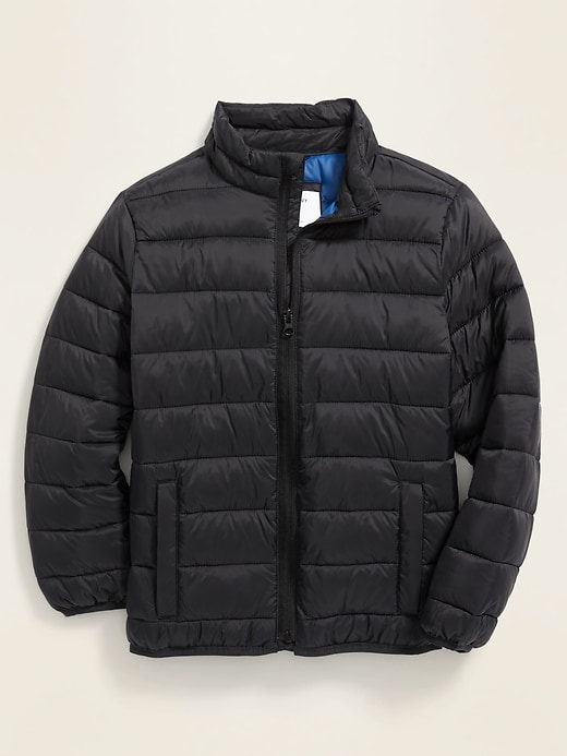 Water-Resistant Packable Quilted Jacket for Boys