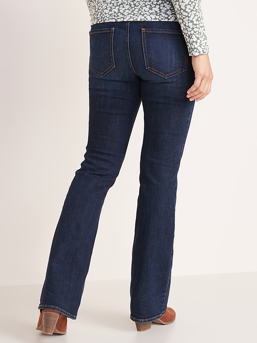 Maternity Full-Panel Boot-Cut Jeans
