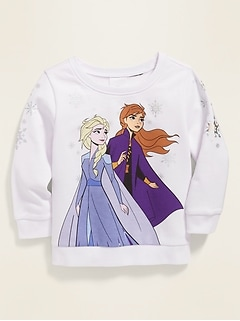 Disney© Frozen II Elsa & Anna Graphic Sweatshirt for Toddler Girls