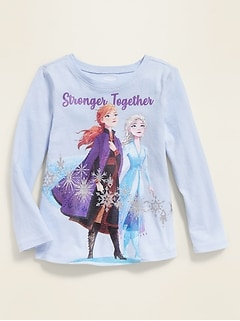 "Disney© Frozen II ""Stronger Together: Tee for Toddler Girls"