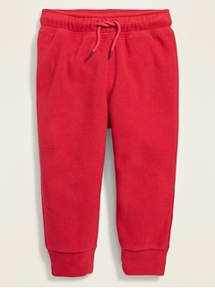 Micro Performance Fleece Functional-Drawstring Joggers for Toddler Boys