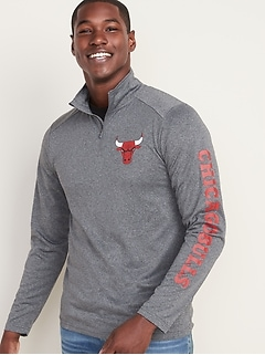 NBA® Team-Graphic 1/4 Zip Pullover for Men
