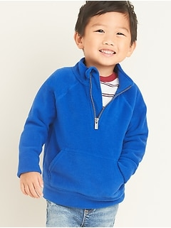 Micro Performance Fleece 1/2-Zip Pullover for Toddler Boys