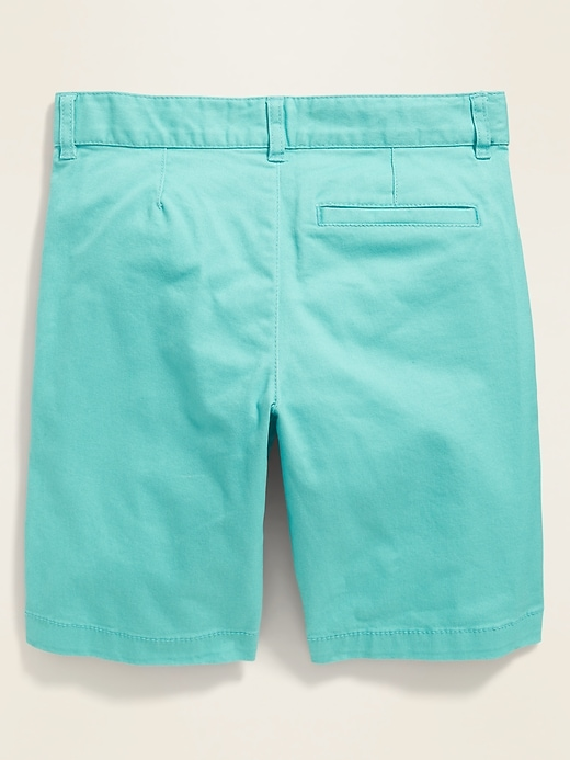 Straight Built-In Flex Twill Shorts for Boys