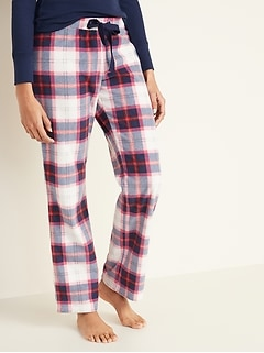 Printed Micro Performance Fleece Pajama Pants for Women
